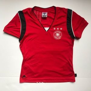 Adidas Deutschland Fussball Shirt
